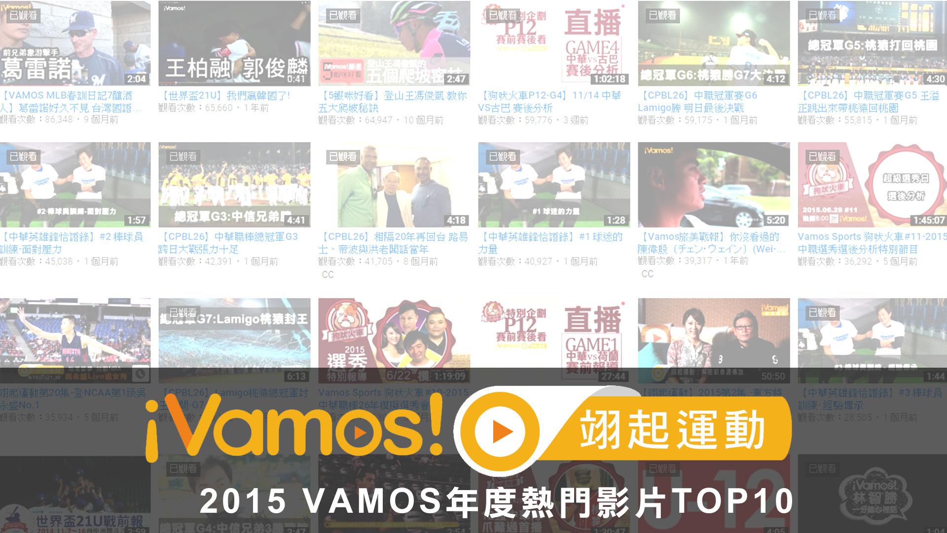 翊起運動TOP10